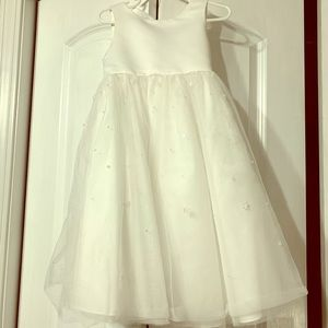 David's Bridal Little Girl Dress